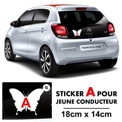 STICKERS A PAPILLON