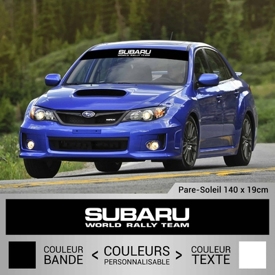 STICKER PARE SOLEIL SUBARU WORLD RALLY TEAM 3