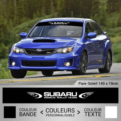 STICKER PARE SOLEIL SUBARU WORLD RALLY TEAM 2