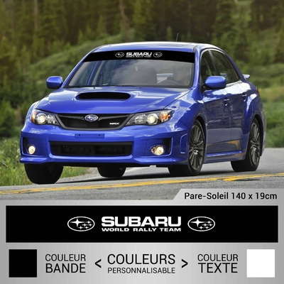STICKER PARE SOLEIL SUBARU WORLD RALLY TEAM