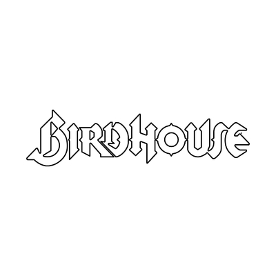 STICKERS BIRDHOUSE CONTOURS