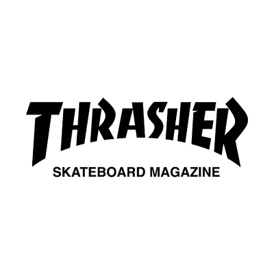 STICKERS TRASHER SKATEBOARD MAGAZINE