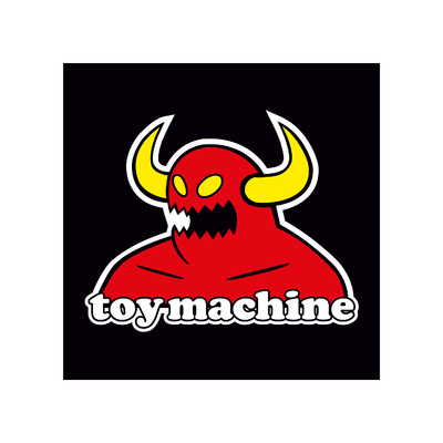 STICKERS TOY MACHINE COULEURS