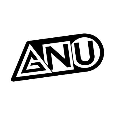 STICKERS GNU