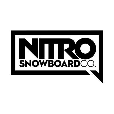 STICKERS NITRO SNOWBOARD CO LOGO