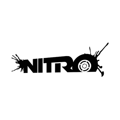 STICKERS NITRO LOGO