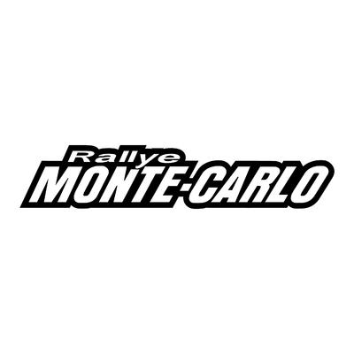 STICKERS RALLYE MONTE-CARLO CONTOUR