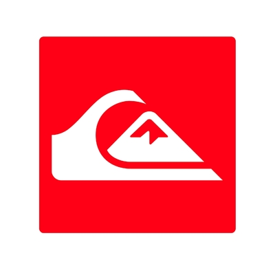 STICKERS QUIKSILVER LOGO