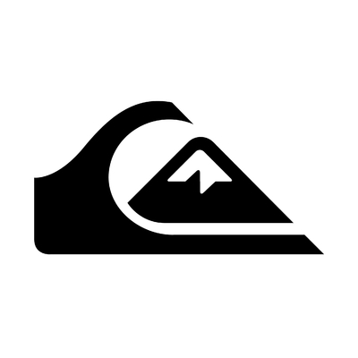 STICKERS QUIKSILVER SURF LOGO