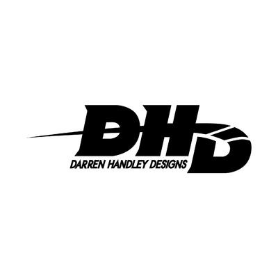 STICKERS DHD DARREN HANDLEY DESIGNS