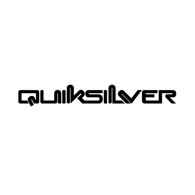 STICKERS QUIKSILVER MOD 2 LOGO