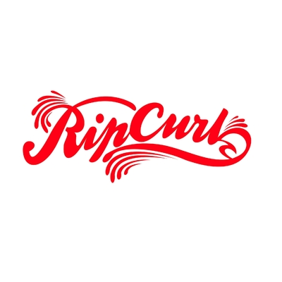 STICKERS RIP CURL RETRO