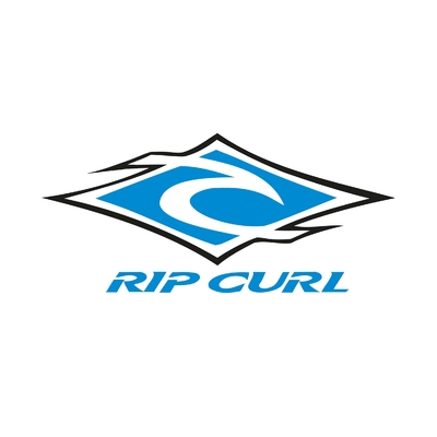 STICKERS RIP CURL LOGO COULEURS