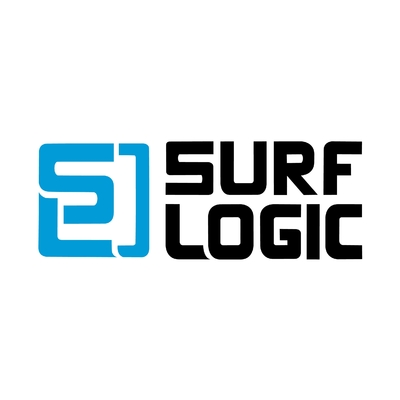 STICKERS SURF LOGIC COULEURS