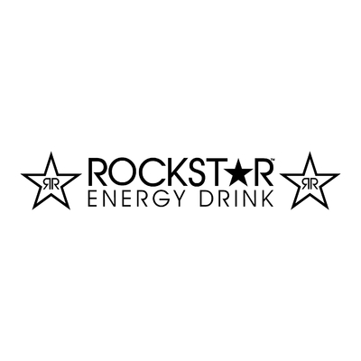 STICKERS ROCKSTAR ENERGY DRINK