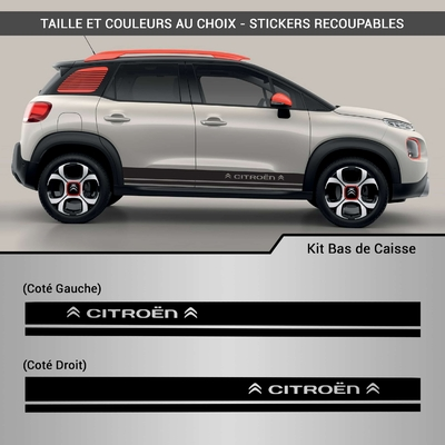 KIT STICKERS BAS DE CAISSE CITROEN