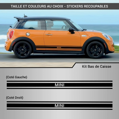 KIT STICKERS BAS DE CAISSE MINI