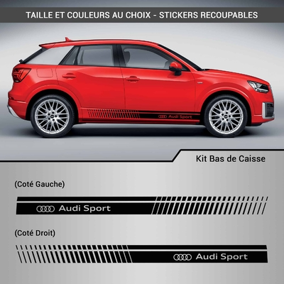 KIT STICKERS BAS DE CAISSE AUDI SPORT 2