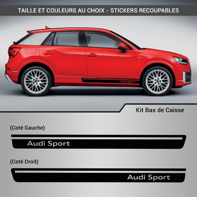 KIT STICKERS BAS DE CAISSE AUDI SPORT 3