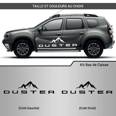 KIT STICKERS BAS DE CAISSE DACIA DUSTER