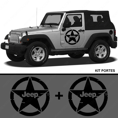 KIT STICKERS PORTIERE JEEP