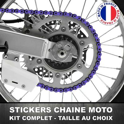 Stickers Chaine Moto Lavande
