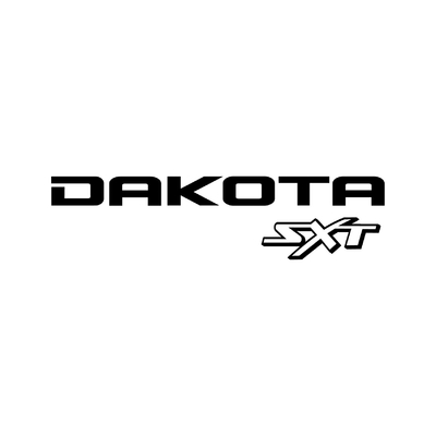 STICKERS DODGE DAKOTA SXT