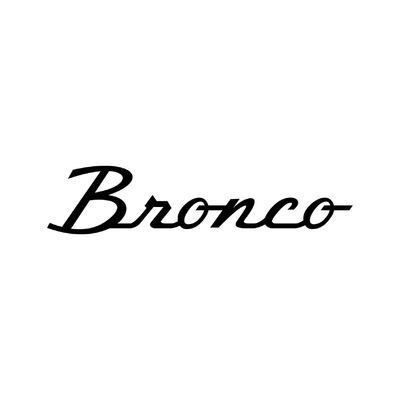 STICKERS FORD BRONCO