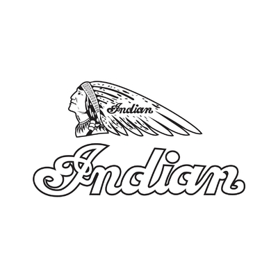 STICKERS INDIAN MOTORCYCLE CONTOUR