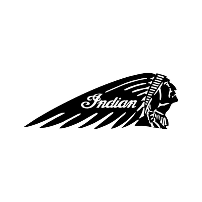 STICKERS INDIAN MOTORCYCLE DROITE