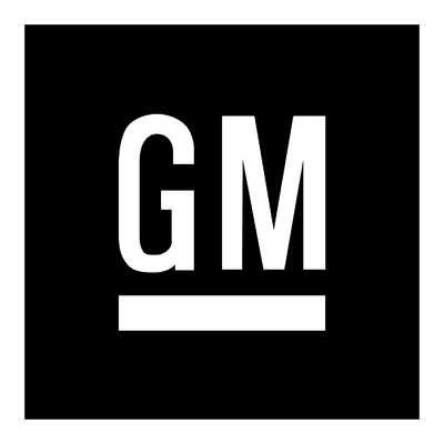 STICKERS GM LOGO