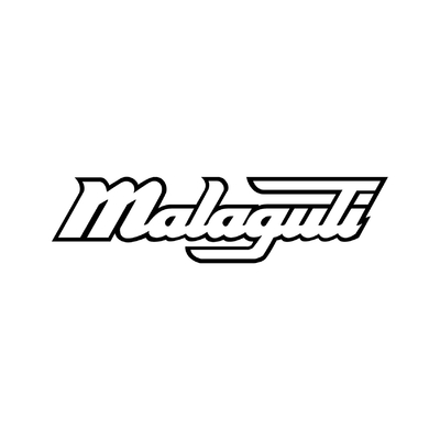 STICKERS MALAGUTI LOGO