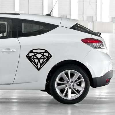 STICKERS DIAMANT DECO VOITURE