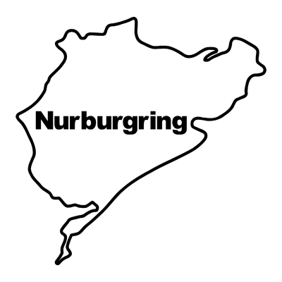 STICKERS NURBURGRING MOD2