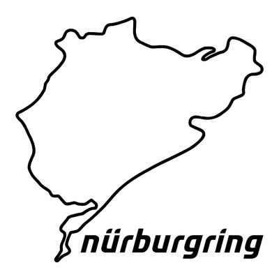 STICKERS NURBURGRING