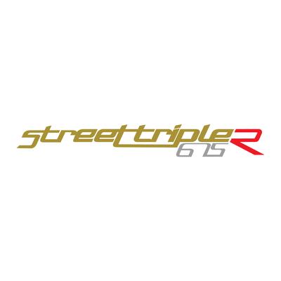 Stickers Street triple 675 R