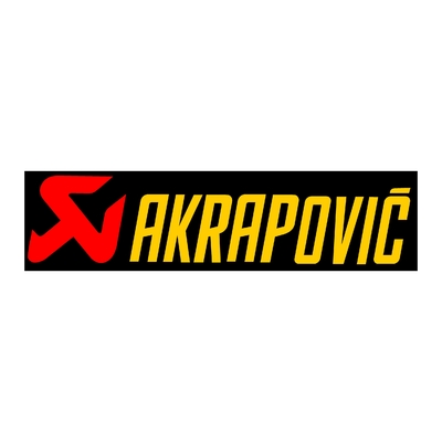 STICKERS AKRAPOVIC BANDEAU