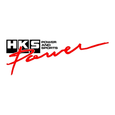 STICKERS HKS POWER AND SPORT