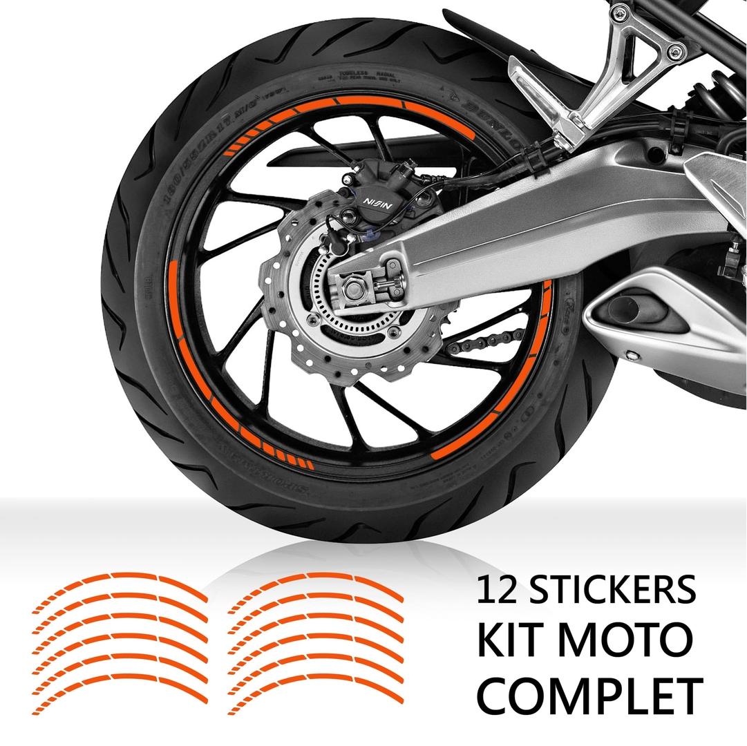 Kit liseret jante moto 1 stickers moto for Deco jante moto