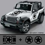 Jeep 1700x1700 Capot et portiere KIT 2