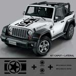 Jeep 1700x1700 Capot et portiere KIT 3