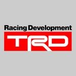 stickers trd ref 2 tuning audio 4x4 sonorisation car auto moto camion competition deco rallye autocollant