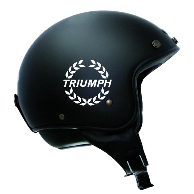 stickers retro r fl chissant triumph casque moto premstick. Black Bedroom Furniture Sets. Home Design Ideas