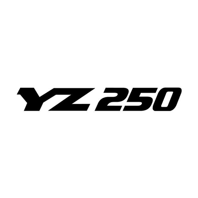 Stickers Yamaha Yz 250 Autocollant Moto