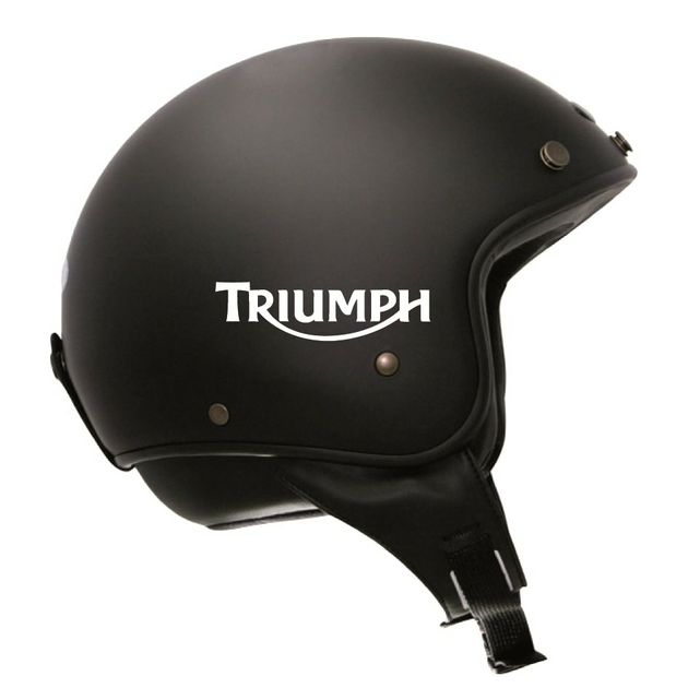 stickers triumph r tro r fl chissant casque moto. Black Bedroom Furniture Sets. Home Design Ideas