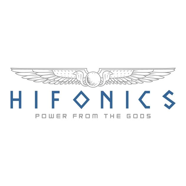Sticker hifonics ref 3 tuning audio sonorisation car