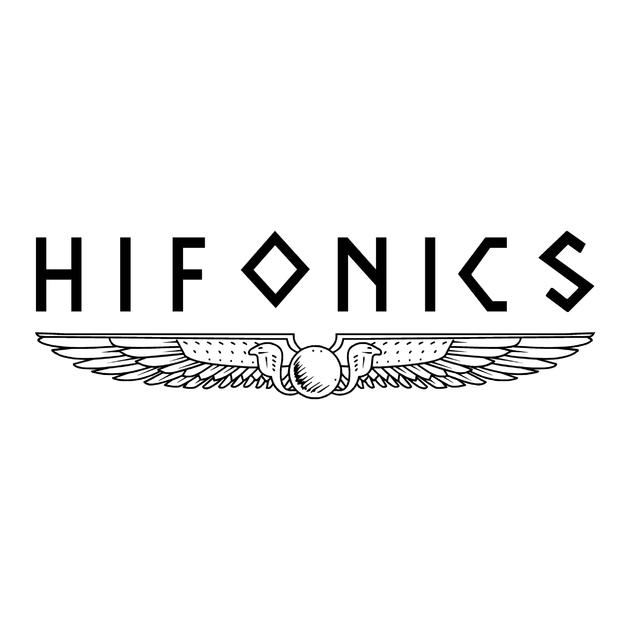 Sticker hifonics ref 2 tuning audio sonorisation car