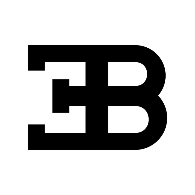 stickers bugatti logo autocollant voiture. Black Bedroom Furniture Sets. Home Design Ideas