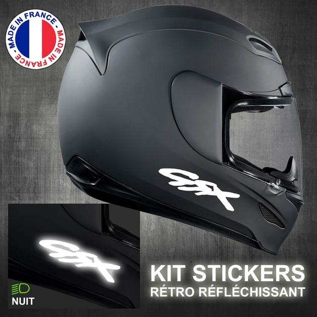 Stickers Gsx Rétro Réfléchissant Casque Moto