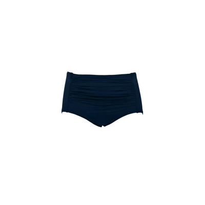 Seafolly - High-rise waist swimsuit bottom indigo blue